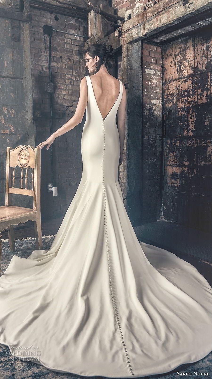 Sareh Nouri Fall 2018 Wedding Dresses Wedding Inspirasi Elsa Wedding Dress Wedding Elegant Classy Sareh Nouri Wedding Dress [ 1604 x 900 Pixel ]