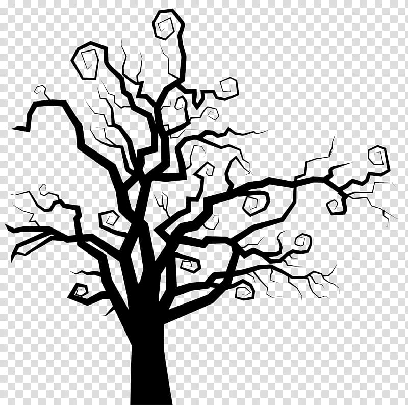 The Halloween Tree Spooky Tree Silhouette Transparent Background Png Clipart In 2020 Spooky Trees Tree Silhouette Tree Drawing