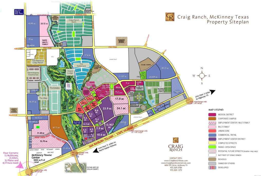 Where Is Mckinney Texas On The Map Craig Ranch Community Map | McKinney, TX | Craig ranch, Map