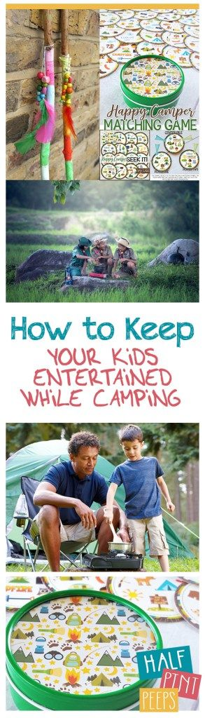 How To Keep Your Kids Entertained While Camping