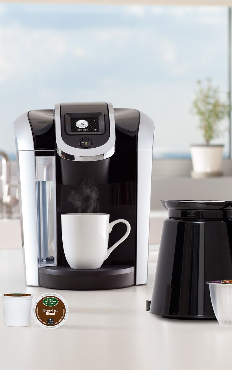 The new Keurig 2.0 is great for brewing cups of coffee for