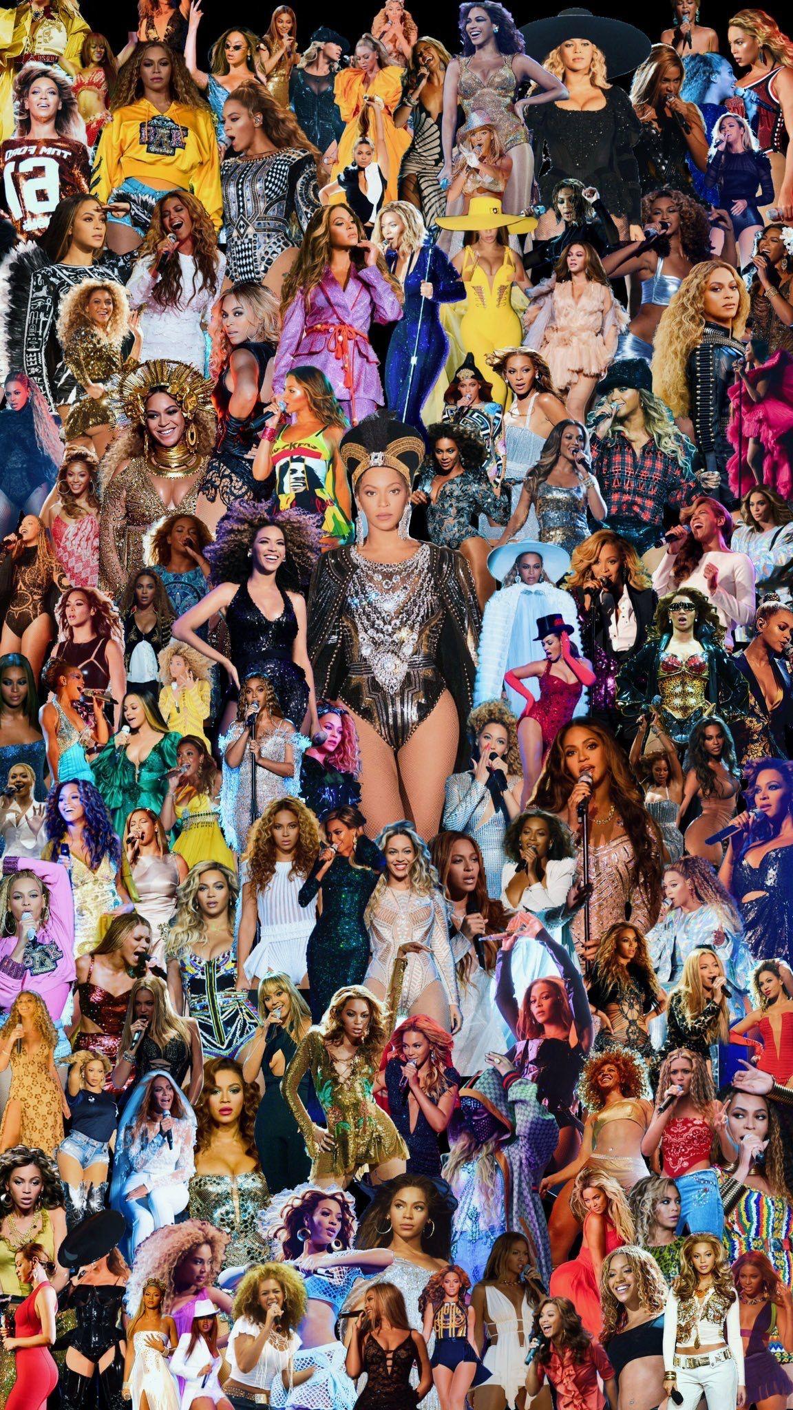 Beyonce Collage Wallpaper Lockscreen Beyonce Coachella Beyonce Background Beyonce Album