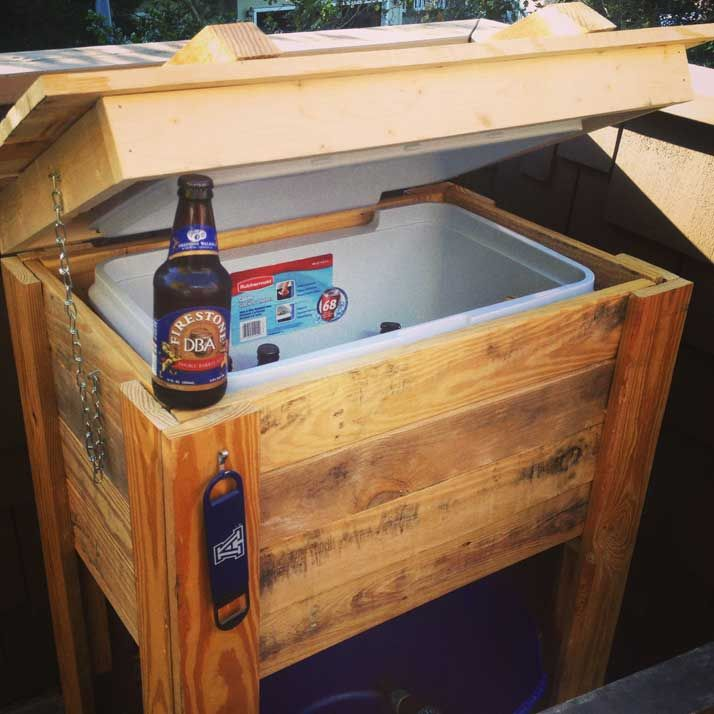 Best 25 Cooler Stand Ideas On Pinterest Pallet Cooler