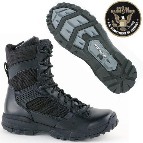 b780fc71559 Altama LITESpeed Boots Black 8