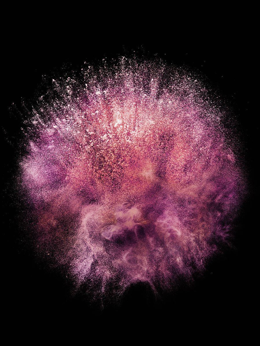 Pink Powder Explosion Cosmetics Party Luxury Stilllife