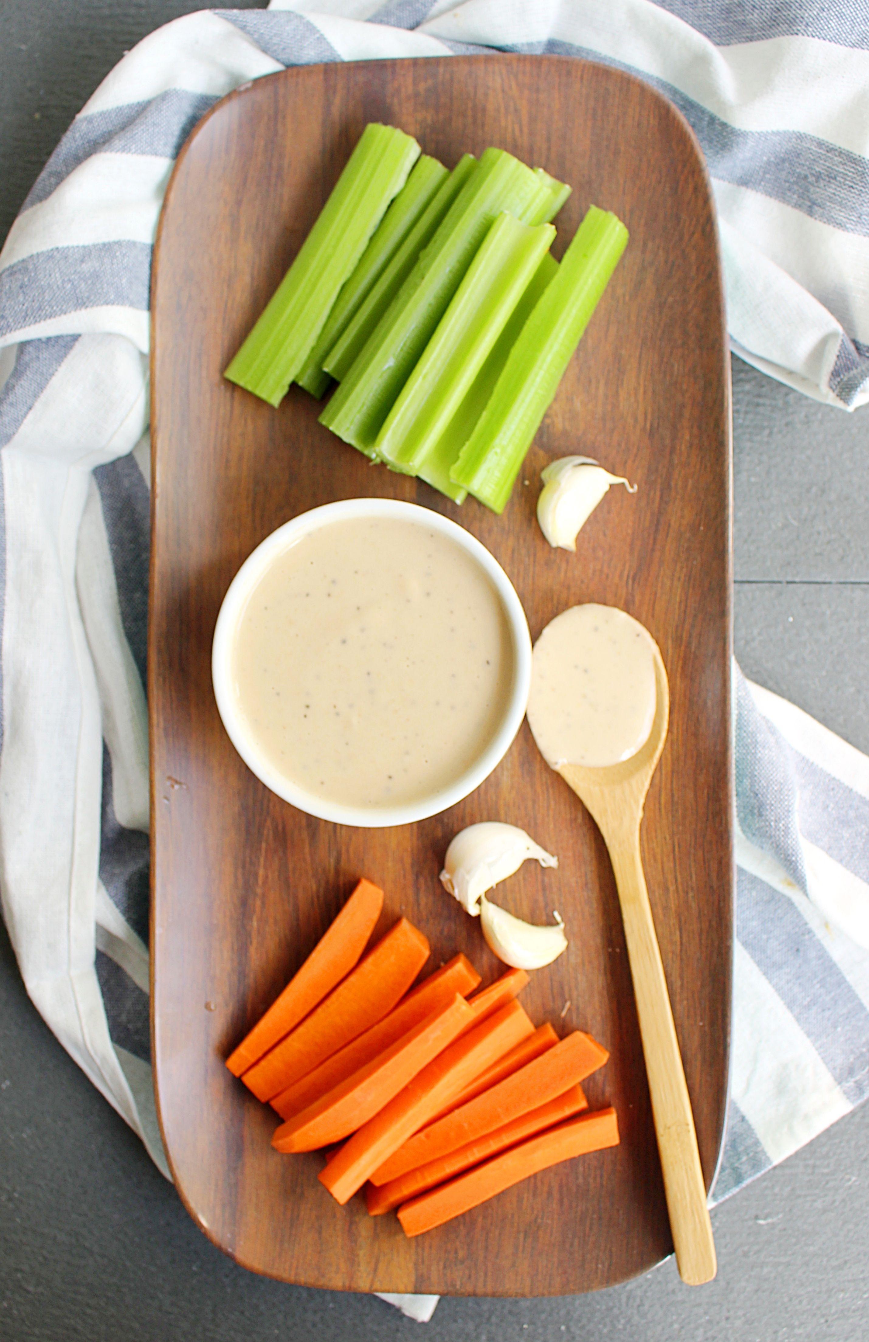 Vegan Garlic Hummus Ranch Dressing Recipe Garlic