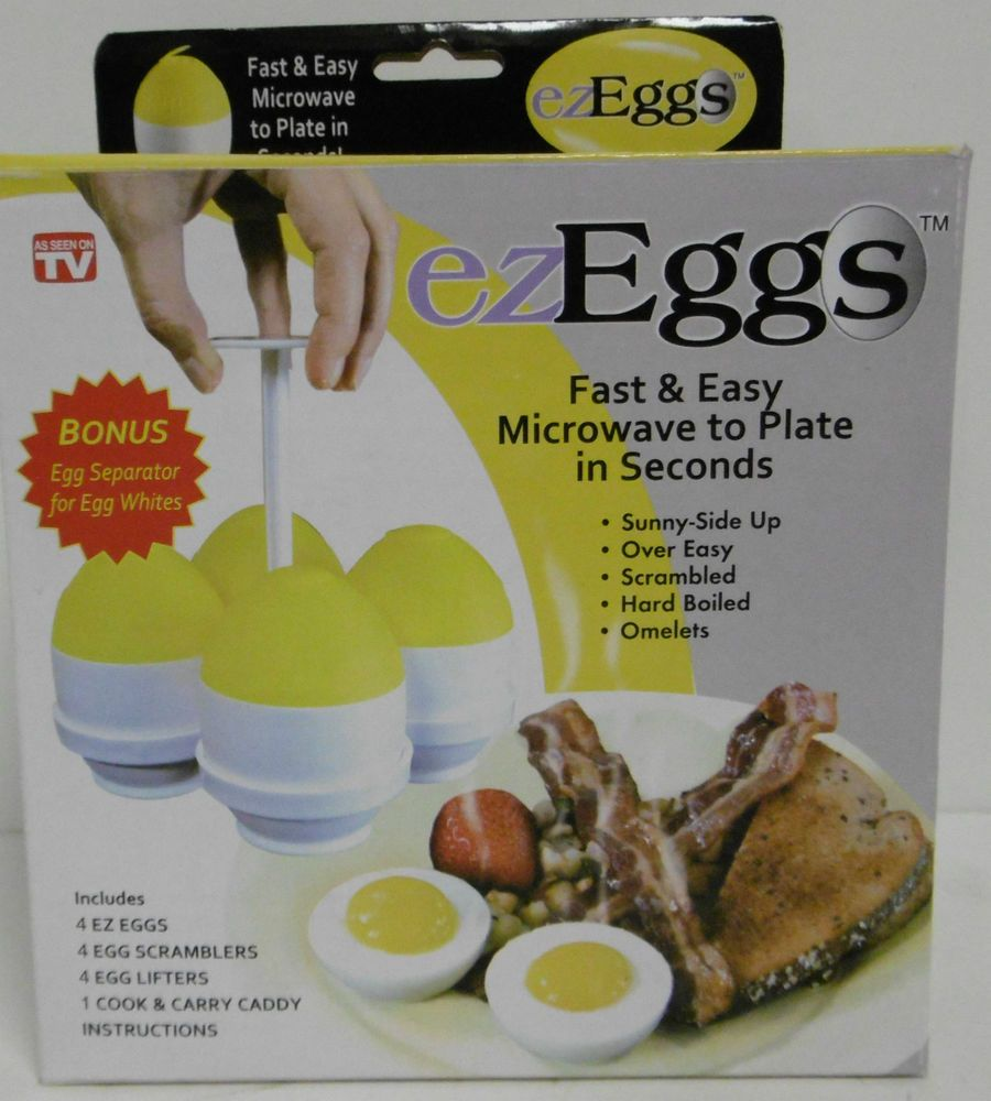 Ezeggs Fast Easy Microwave To Plate In Seconds As Seen On Tv Egg
