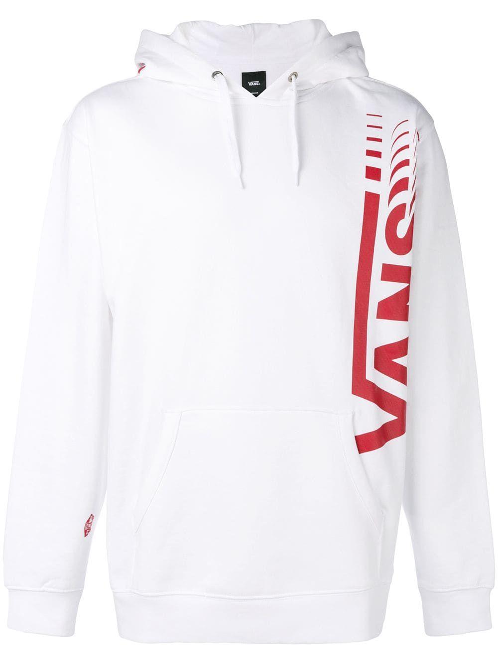 65ad1ffb68 VANS VANS DRAWSTRING LOGO HOODIE - WHITE.  vans  cloth