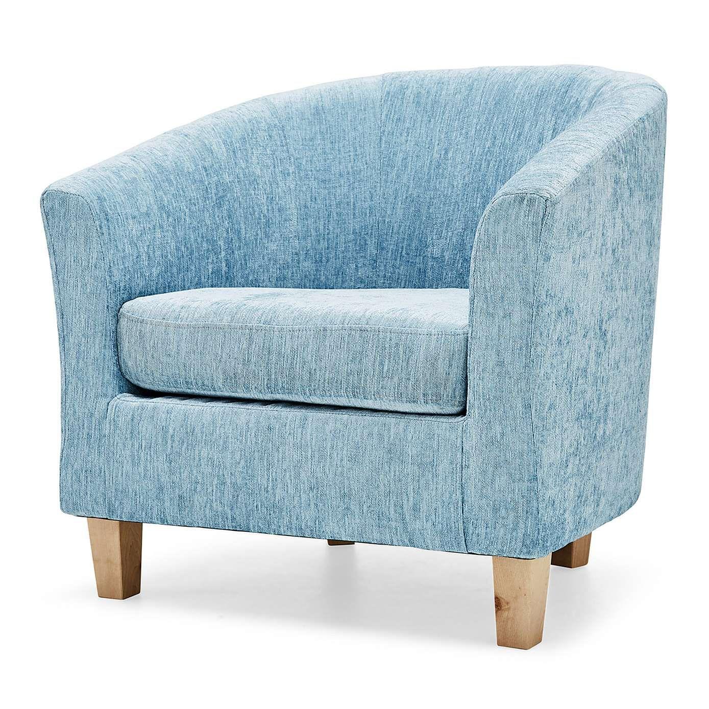 Maxwell Duck Egg Tub Chair Dunelm Tub chair, Chair