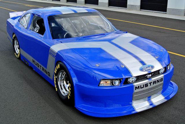 Rusty Wallace NASCAR Car | Rusty Wallace 2012 Mustang GT NASCAR Race Car