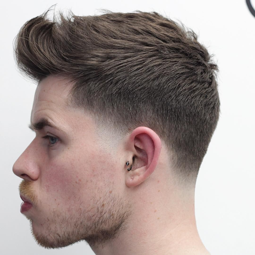Soft Taper With No Outline For That Natural Look Hairdressing