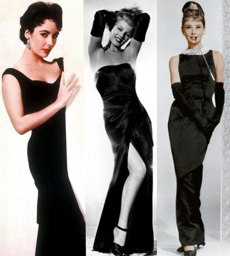 Old hollywood style cocktail dresses
