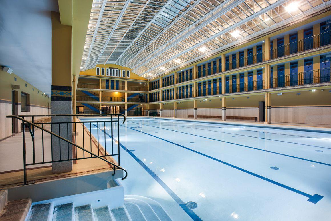 les escales wellness du spa clarins atilde nbsp la piscine molitor pools city