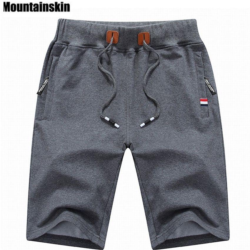 Nuevo pantalón corto para hombre de algodón Terry Jogger Pantalones Cortos Correr Jogging Gym De Verano