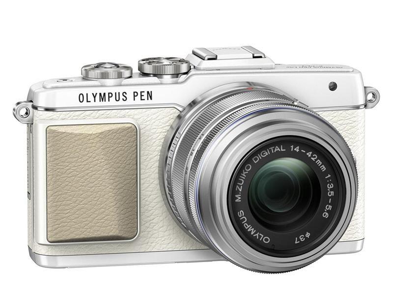 Olympus E-PL7 Standard Kit hvit 3999,- er objektiv med?
