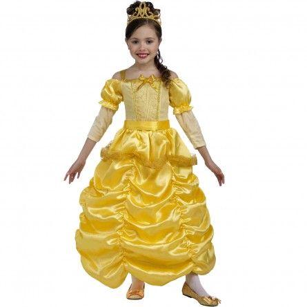Girls Beauty Belle Princess Costume