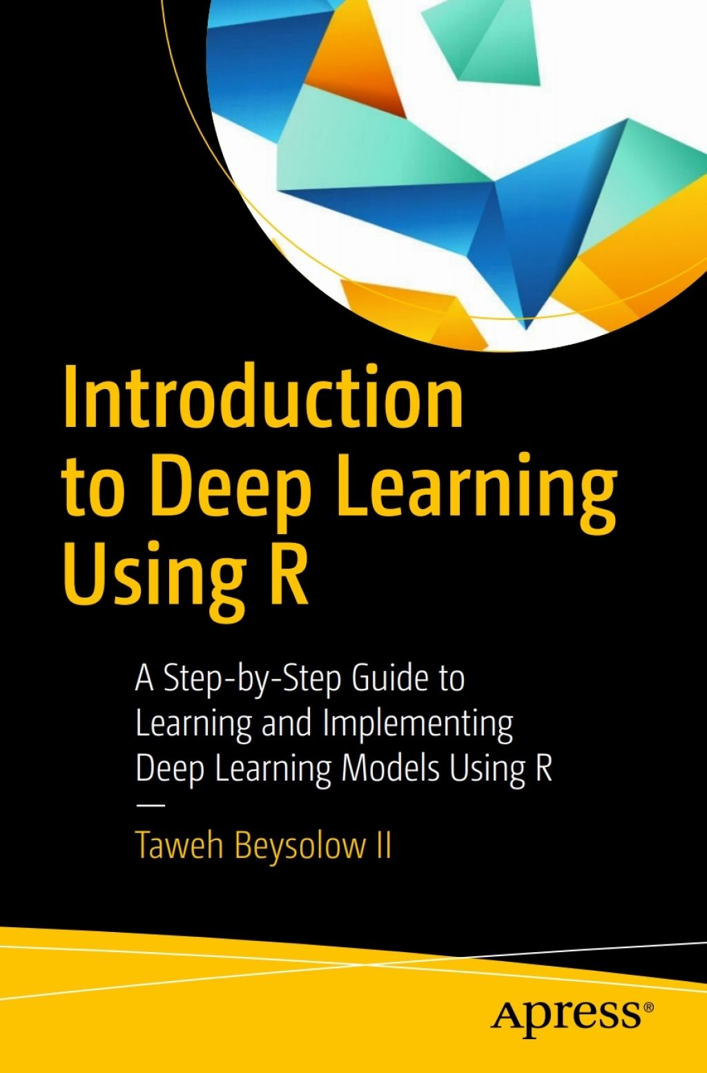 Introduction To Deep Learning Using R Ebook In 2019 Products