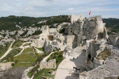 Les Baux-de-Provence: mrtvé město křísí turistika