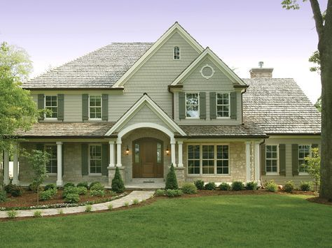 Luca Traditional Home Traditional Two Story Home With Subtle Craftsman Influence From Houseplansandmore Com