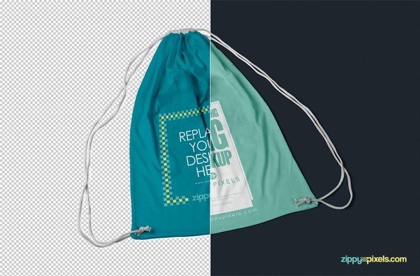 Download Backpack Mockup Free Drawstring Mockup Psd Download Zippypixels Drawstring Backpack Backpack Free Mockup