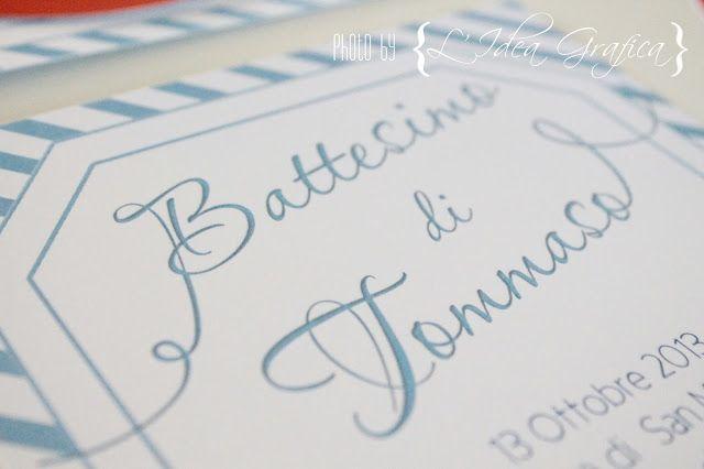 L'Idea Grafica - Il blog: Il Battesimo di Tommaso