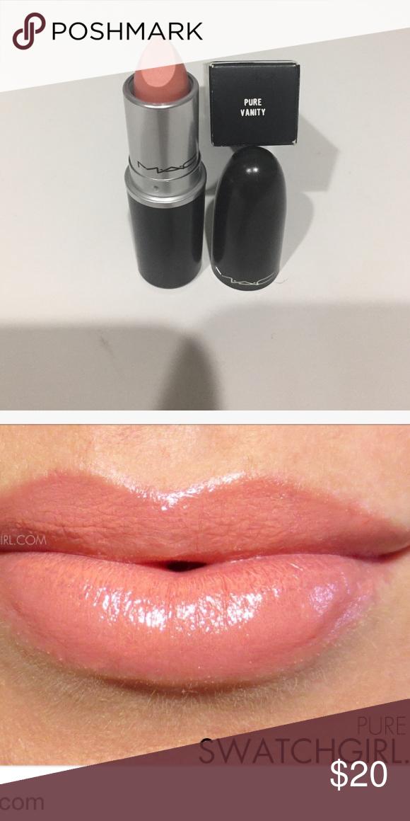 MAC LE lipstick in Pure Vanity NIB AUTHENTIC MAC lipstick