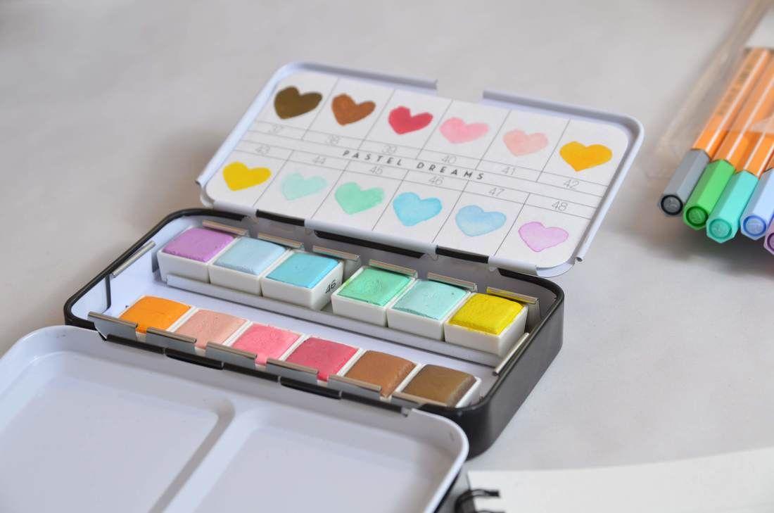 Prima Marketing Watercolor Confections Pastel Dreams Watercolor