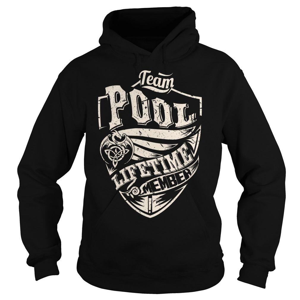 (Tshirt Design) Team POOL Lifetime Member Dragon Last Name Surname T-Shirt [Tshirt design] Hoodies, Tee Shirts
