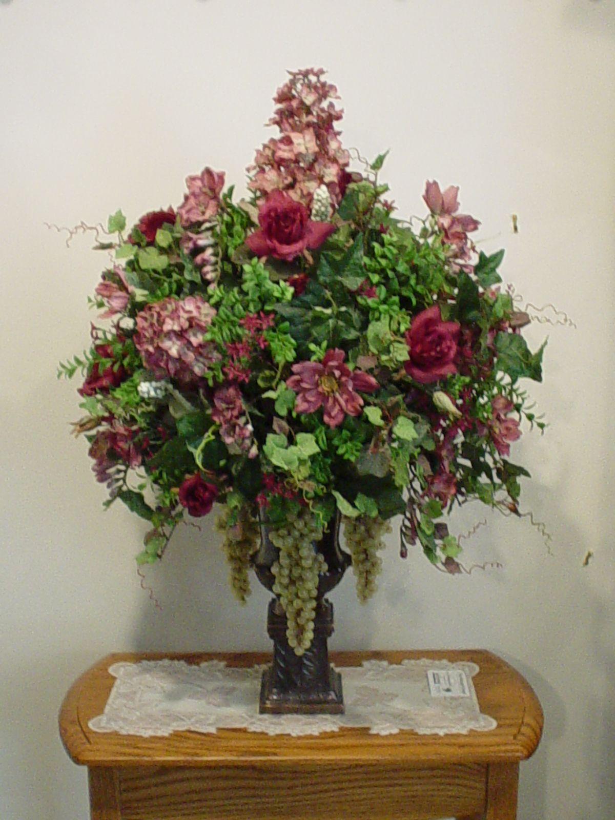 Silk Arrangements For Home Decor Silk Flower Arrangements For Home Silk Floral Arrangements And