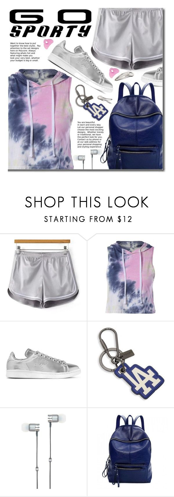 """Go Sporty!"" by beebeely-look ❤ liked on Polyvore featuring adidas Originals, Coach, Master & Dynamic, sporty, sportystyle, twinkledeals and gosporty"