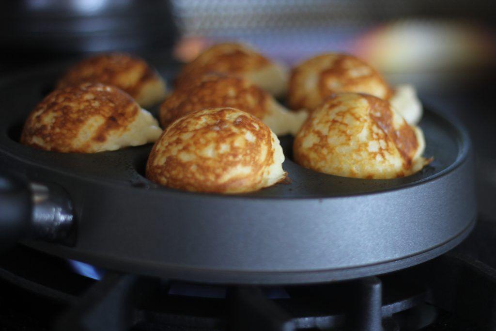 Buttermilk Aebleskivers Recipe Food Recipes Aebleskiver Recipe Ebelskiver Recipe