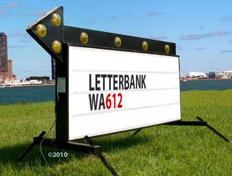 Marquees and flashing arrow readerboard portable signs by for Flashing arrow sign letters