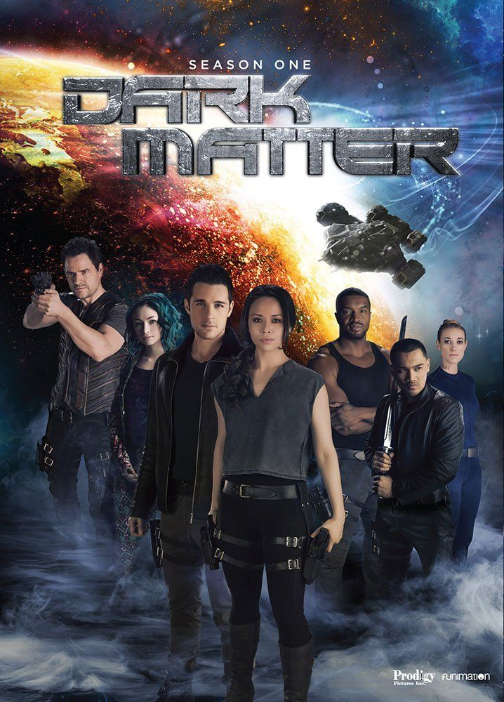 Dvd Blu Ray Dark Matter Season 1 Syfy With Images Dark