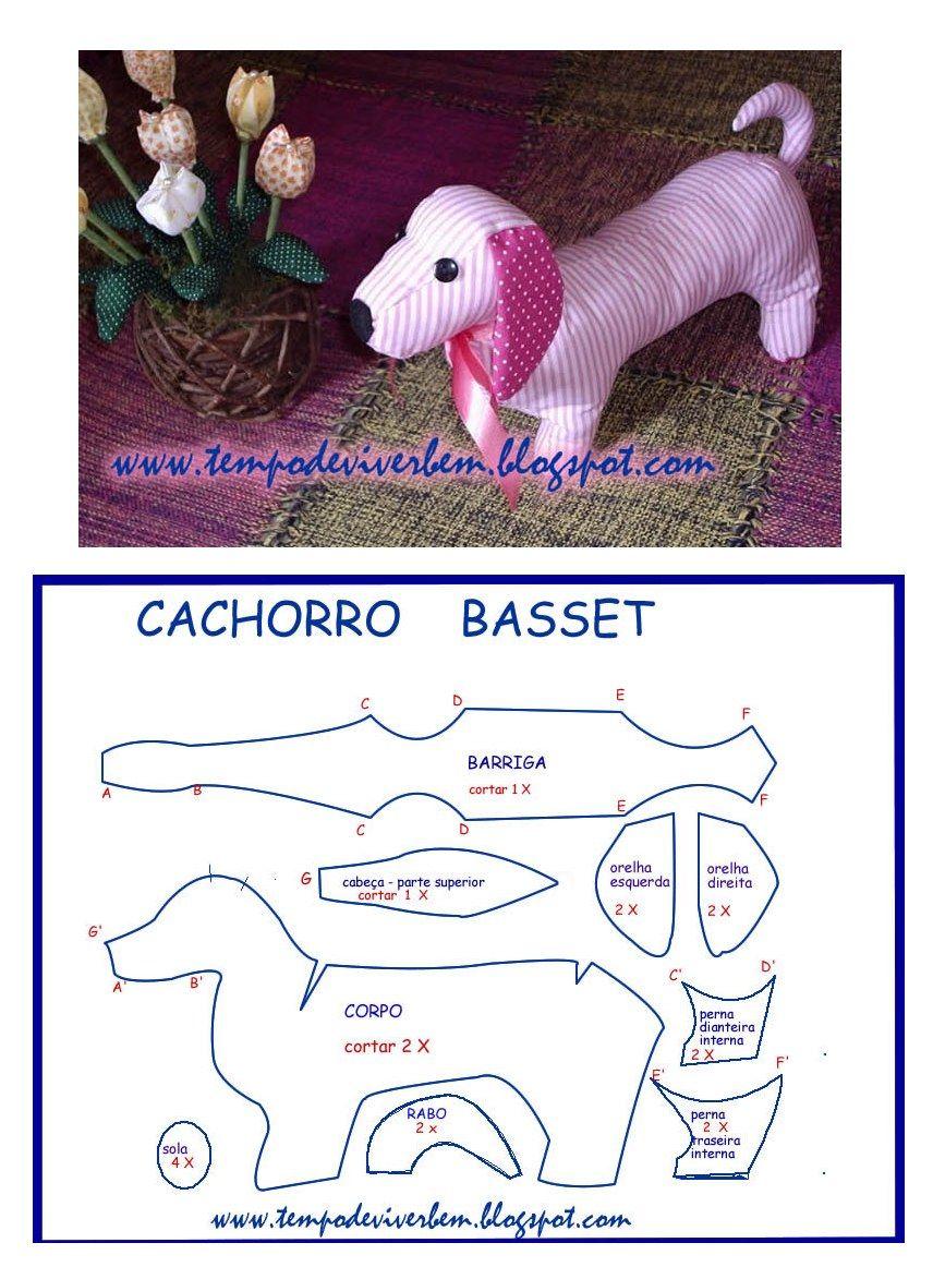 perro salchicha | costura y patchwork | Pinterest | Moldes, Patrones ...