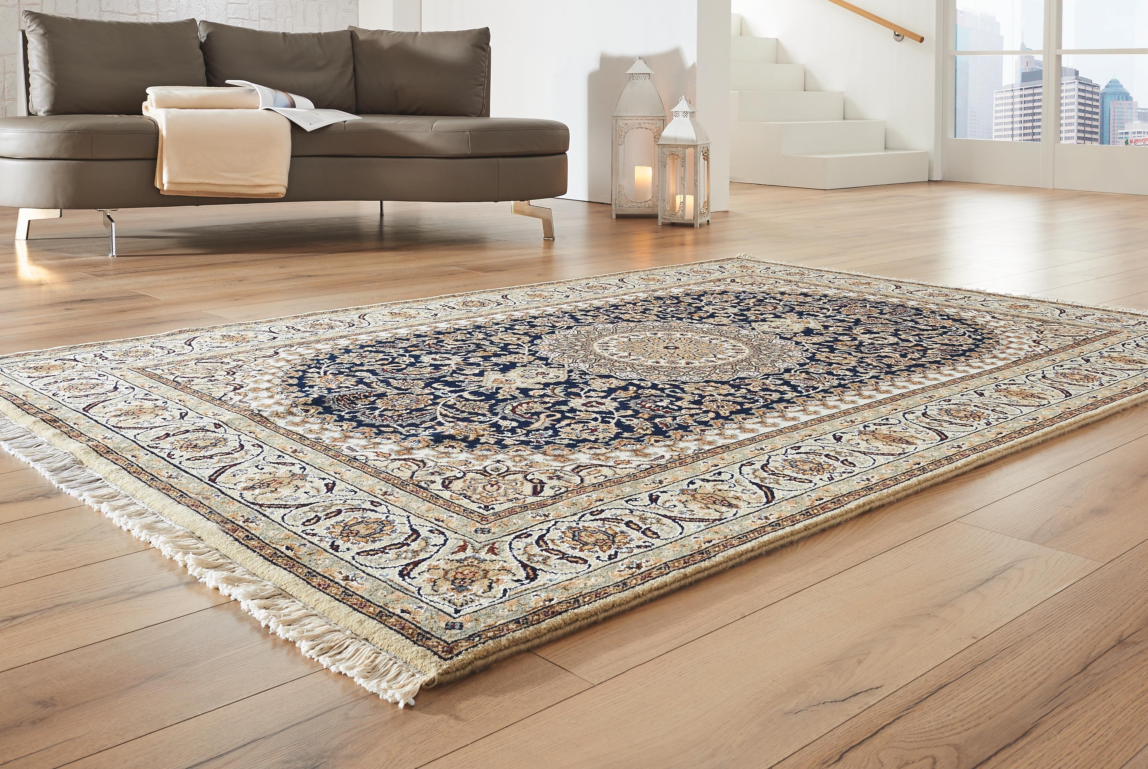Teppich flachgewebe ruggy blau beige kaufen bei teppichversand