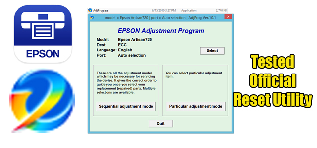 Epson Artisan 720 Reset Utility Free Download Epson Expressions Epson Inkjet Printer