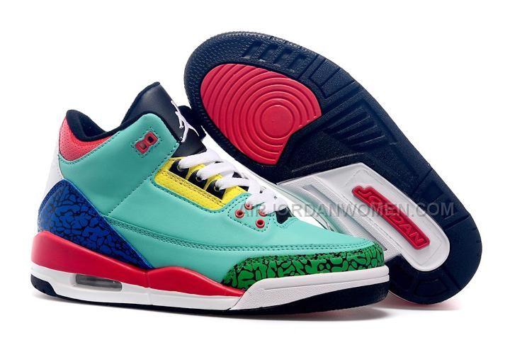 8178c6ce0bf Cheap Girls Air Jordan 3 Custom GS New Colorful For Sale Women Air Jordan 3  - Nike official website Up to discount