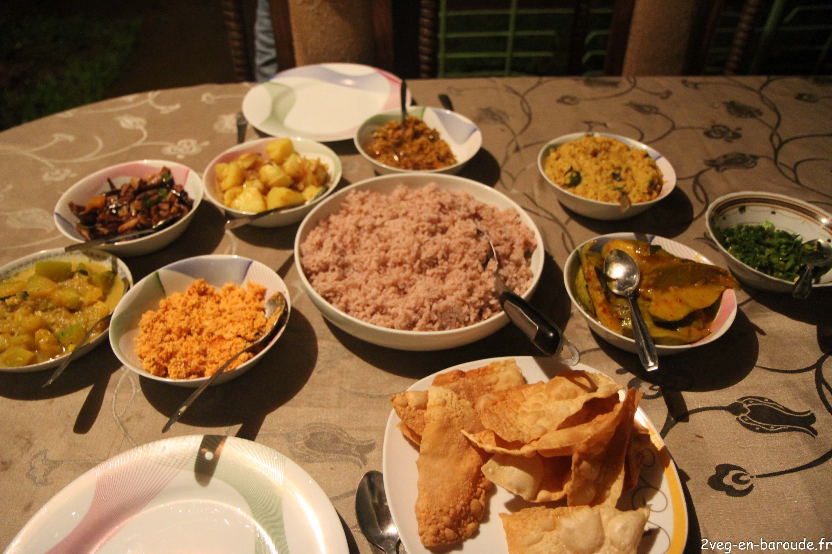 Atelier Cuisine Au Sri Lanka Recette Vegan Du Rice And Curry