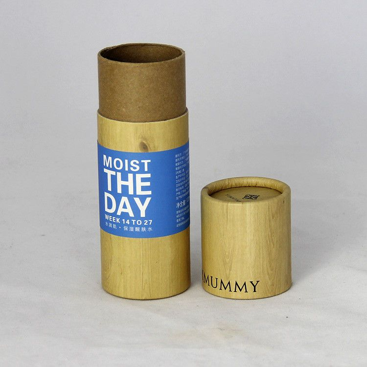China Bamboo Pattern Classical Cylindrical Kraft Paper Tube Paper