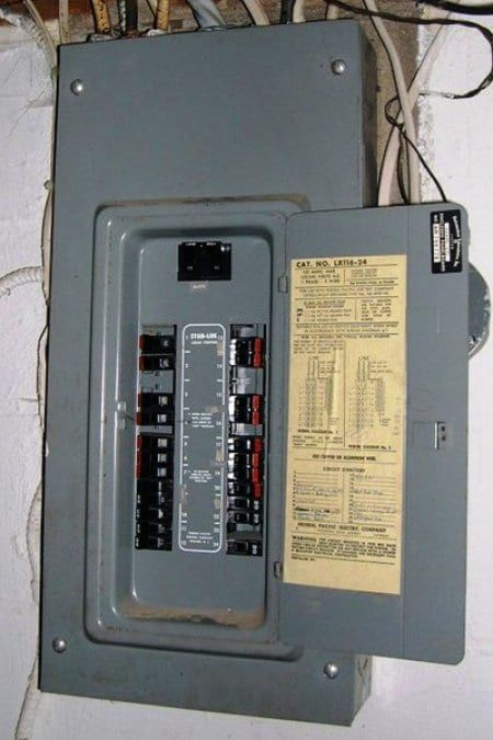 Cost to Replace a Circuit Breaker Box Box Electrical wiring and