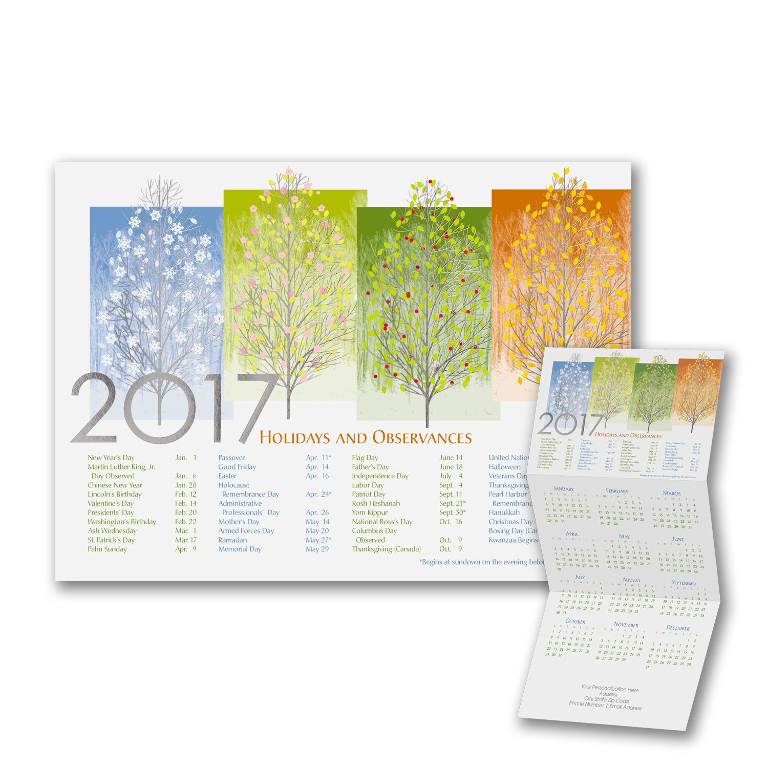 Holiday Cards - Any Time of Year - Calendar Card > Shop All Holiday ...