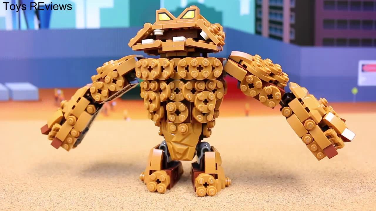 The Lego Batman Movie Clayface Splat Attack at