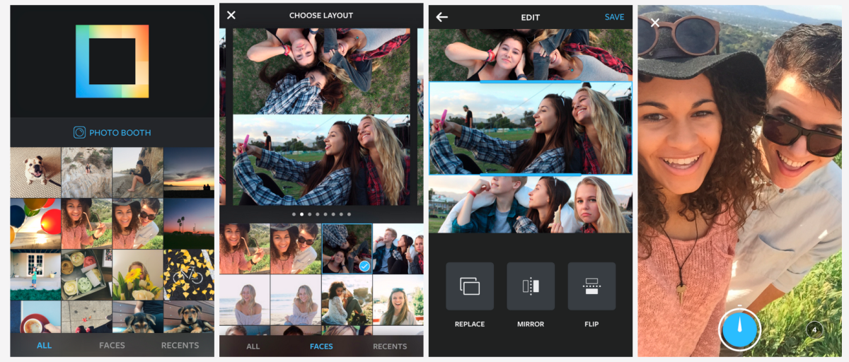 Instagram's new Layout app automatically generates photo collages