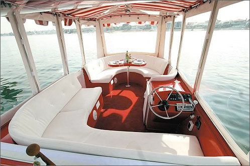 Duffy Boat - Nice interior there!