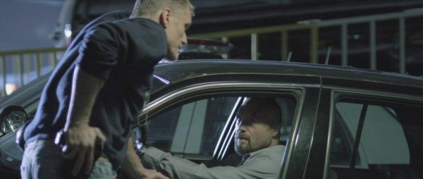 Randy Couture Gets To Feel Dolph Lundgren's Tension In AMBUSHED Clip