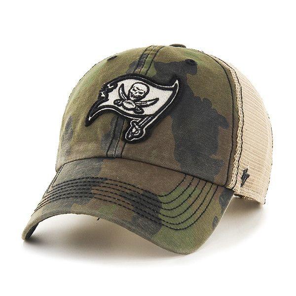 Tampa Bay Buccaneers 47 Brand Green Howitzer Camo Burnett Mesh Adj Hat –  Sporting Up c94af276480