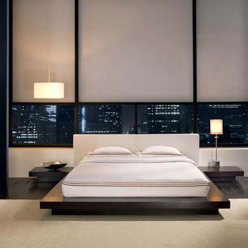 Designer contemporary Worth Contemporary Bed By Modloft bedroom