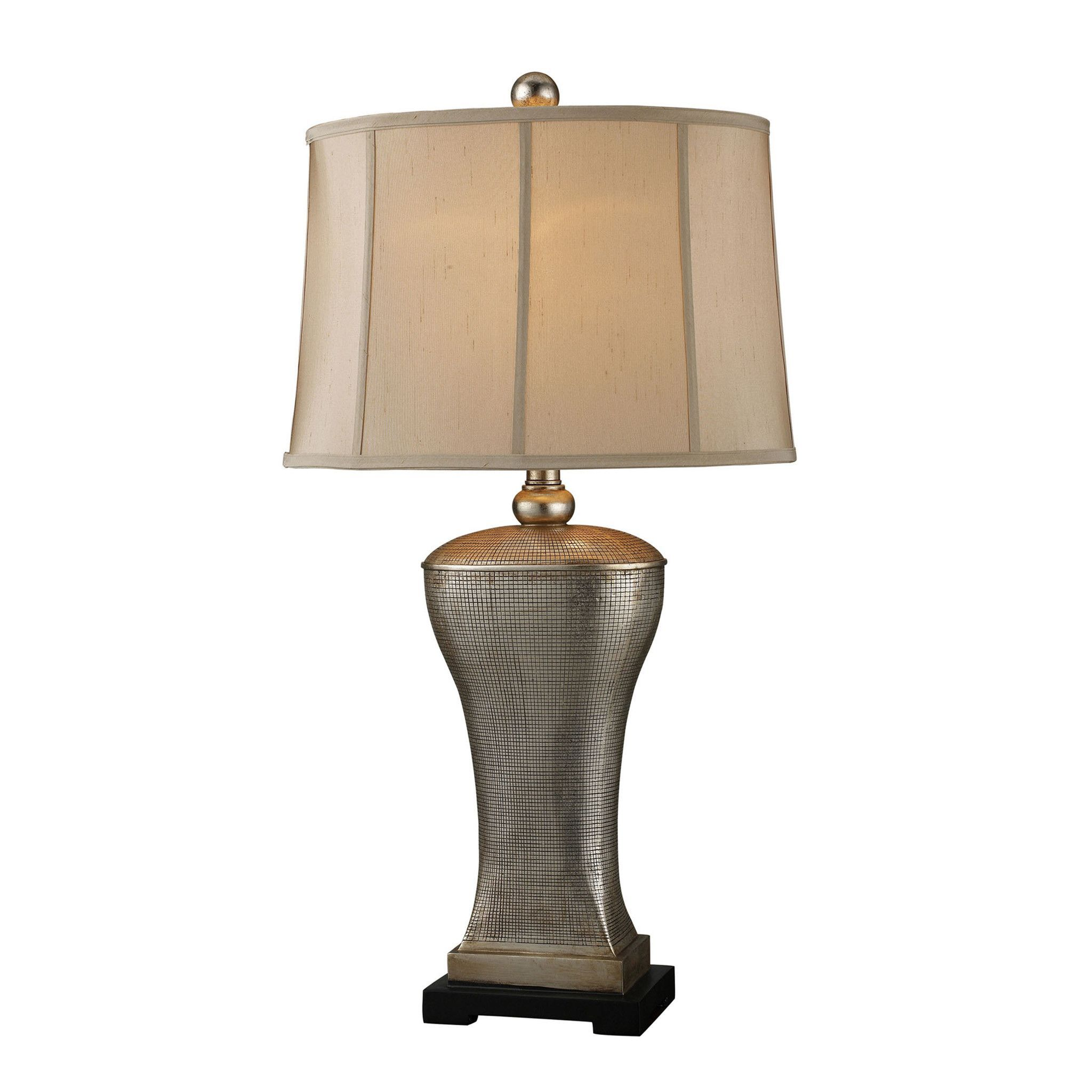 Trump Home Lexington Avenue Table Lamp In Silver Lake Finish