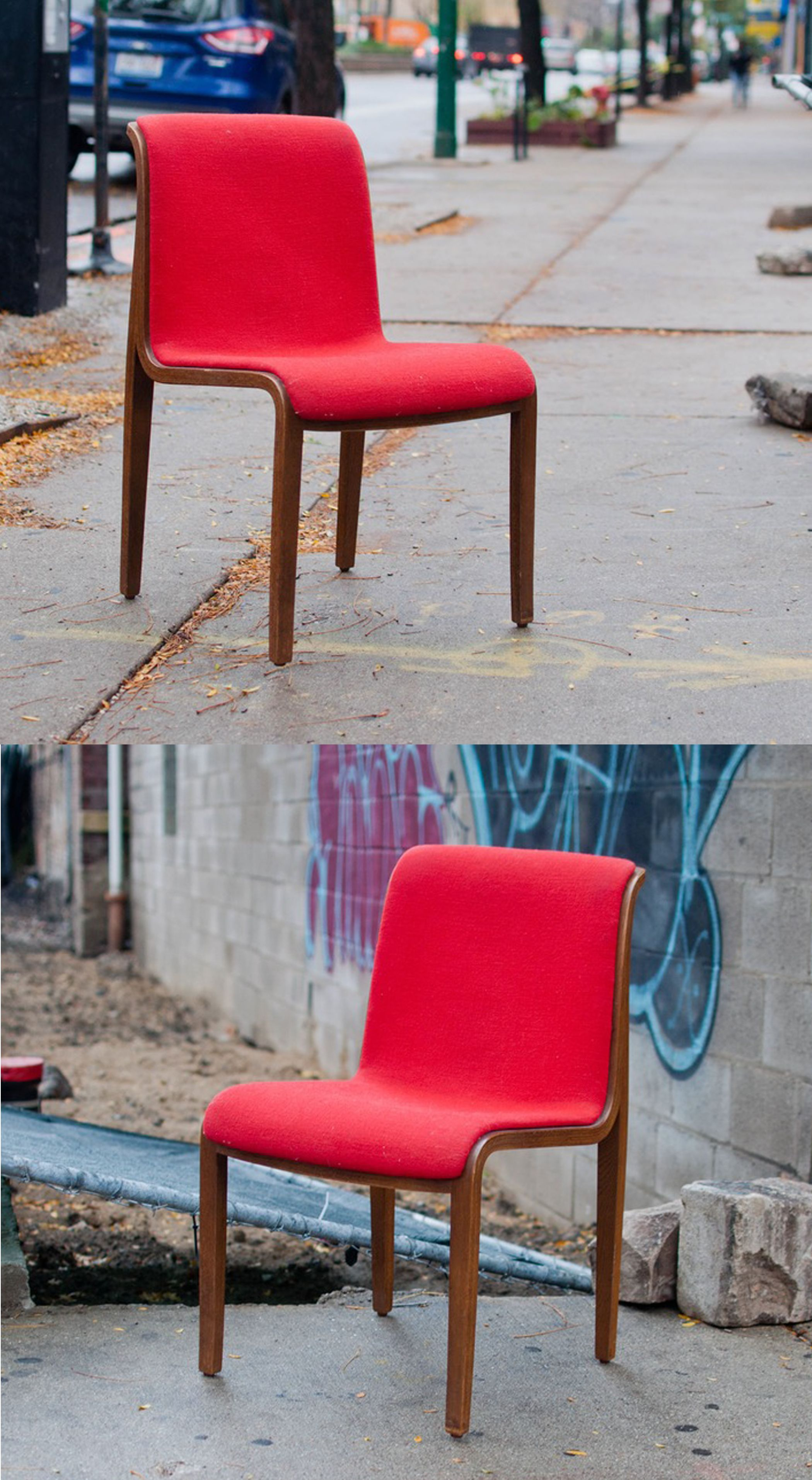 Knoll life chair geek - Add A Pop Of Color In Your Favorte Corner With This Sleek Bentwood Chair By Knoll