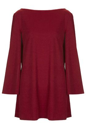 **Cape Sleeve Shift Dress by Rare
